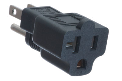 A-515P20RMF: 5-15P Male to 5-20R Female power adapter