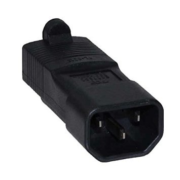A-C14515RMF: C14 Male to 5-15R Female power adapter