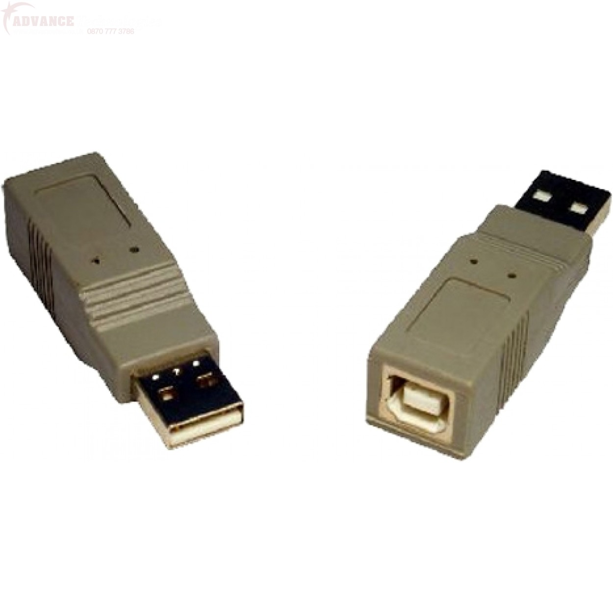 A-USB-ABMF: USB A Male to B Female adapter
