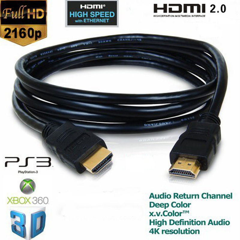 C-HDMI2L: 1 to 75ft 4K HDMI to HDMI v2.0 Heavy Duty Cable