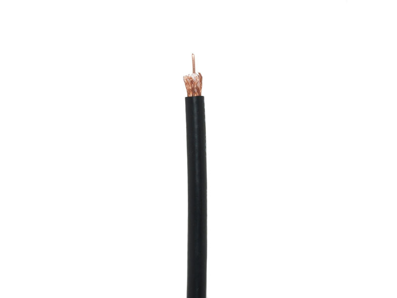 Cab-RG59-1000Ft-95%: RG59 Coaxial Cable,20 AWG Solid Pure Copper,95% Braiding Shield 1000ft