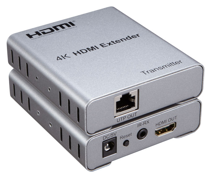E50HD4K: 50M HDMI Extender Over Cat5 4Kx2K Supported