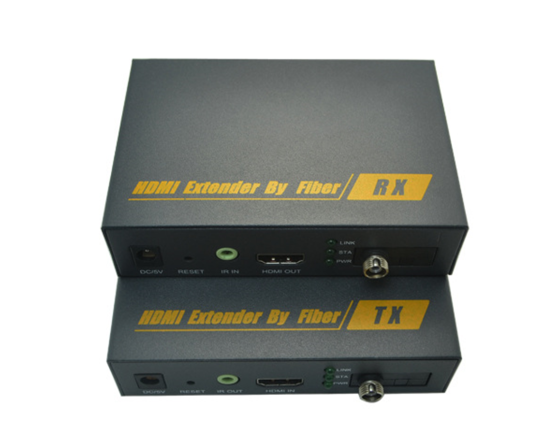 HE20KMF: HDMI Optic Fiber Extender 20Km with IR