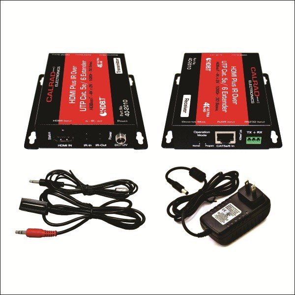 HE40704K: HDBaseT v2.0 POE HDMI 4K x 2K 60hz POC Standard Balun with IRRS232 over Single CAT5e/6 Cable