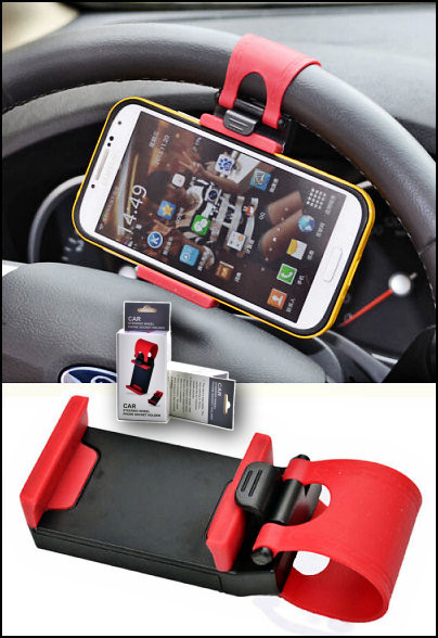 HF-ACC-HOLDER:Steeling Wheel Cellphone Holder