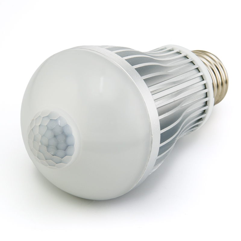 HF-LED-BULB-MOTION: LED 6W Motion Sensor Auto Power Replacement Light Bulb