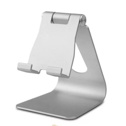 HF-TS15: Multi-Angle Rotatable Aluminum Smartphone and Tablet Desktop Cradle Holder