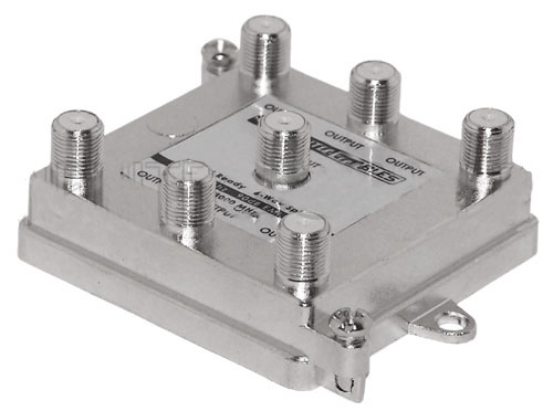 HF-TVD3-16: 3GHz 90dB Digital 6-Way Splitters