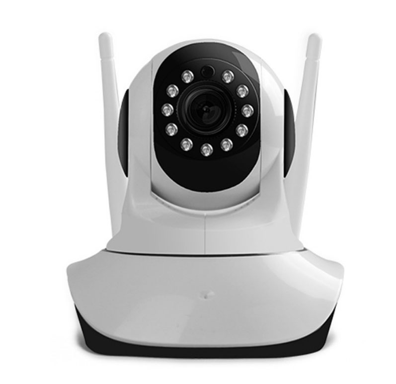 HF-WSC-720: 20P HD Robot Wifi IP Camera Pan Tilt Day/Night Vision 2 Way Audio SD Card Slot Motion Detection Free APP Support 9 Langusges One Key to Move