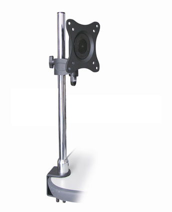 HFTM-DST1327-1: Swivel & Tilt LED/LCD/PDP desktop bracket TV size: 13-27 inch VESA Standard Tilt -15° ~ + 15° Swivel 180°