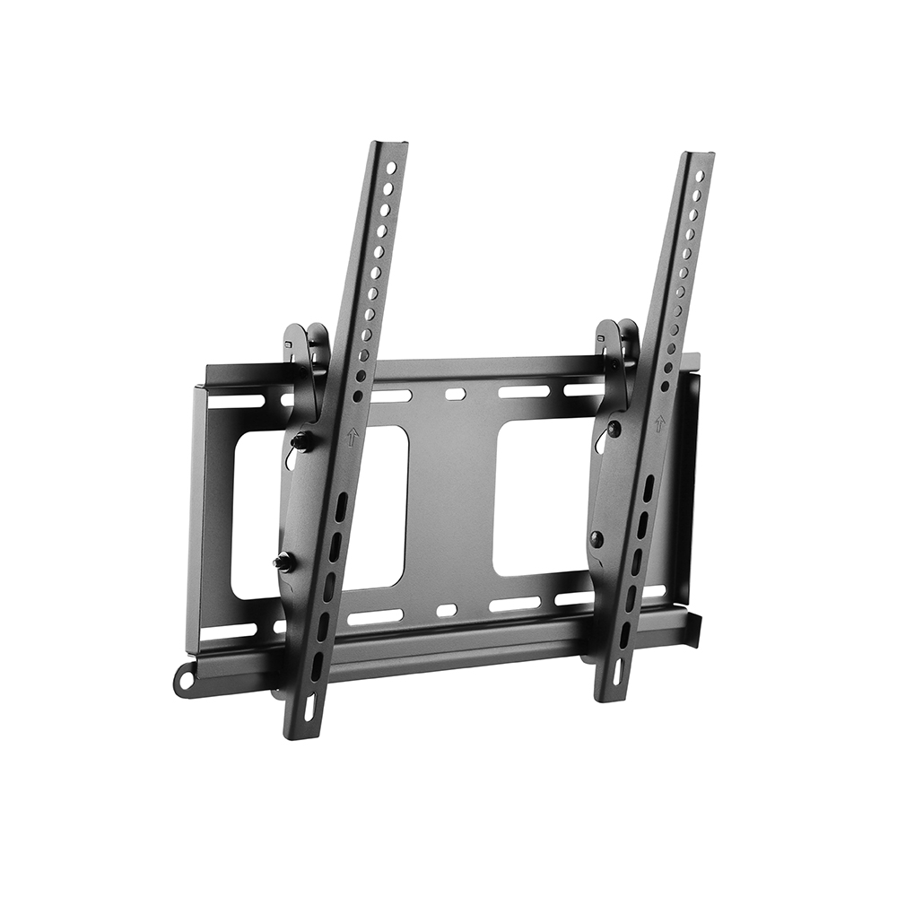 "HFTM-TO3255: LCD/LED Curved and Flat Panel Tilt Wall Bracket, VESA 400x400, size 32-55"", Black"