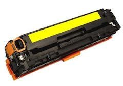 HP CB542A / CRG-316 /716/416/117: HP CB542A Yellow Compatible Toner Cartridge