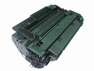HP CE255A: Toner Cartridge CE255A (55A) Compatible Remanufactured for HP CE255A Black