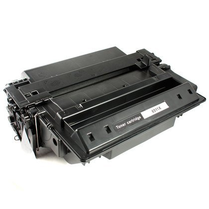 HP Q6511X: Toner Cartridge Q6511X (11X) Compatible Remanufactured for HP Q6511X Black