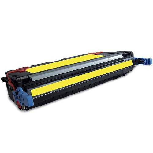 HP Q7582A: HP Q7582A Remanufactured Yellow Toner Cartridge