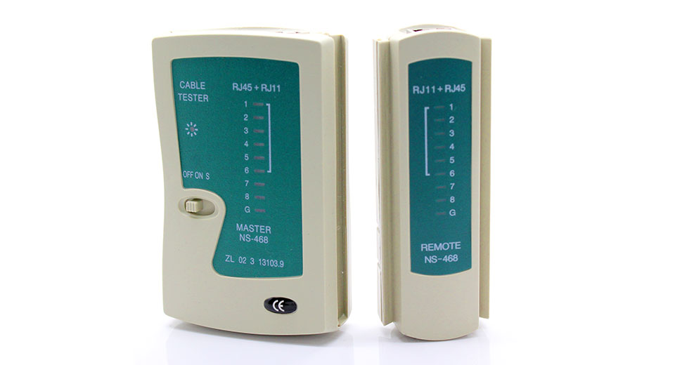 NS486: Multifunctional Network CAT5 TPU Cable Tester