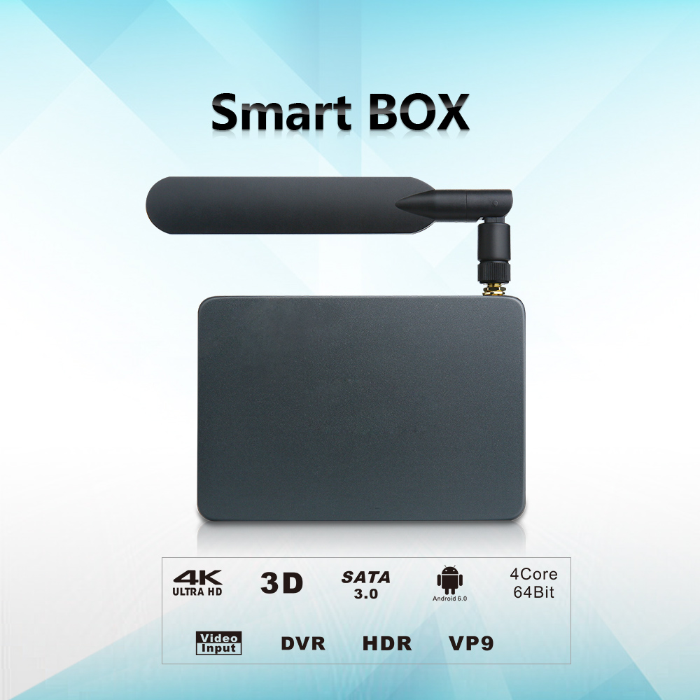 RTD-R18: Realtek RTD1295 Quad-Core ARM Cortex-A53 64-bit @2GHz Android 6.0 TV Box with HDMI-in Recording HDR, media player