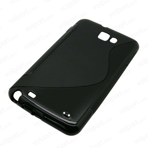 S3-TPU: TPU cover case black for Samsung Galaxy S3