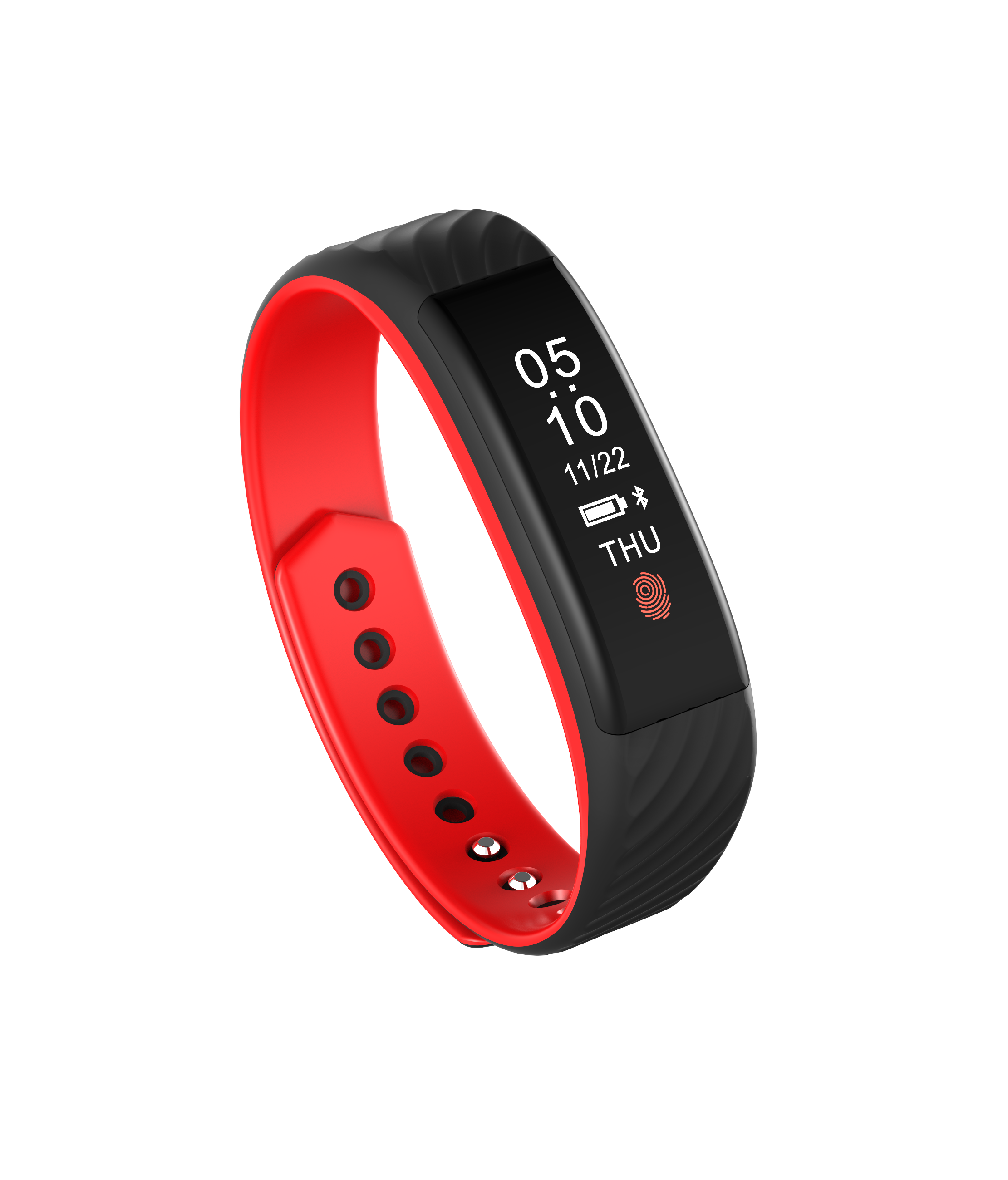SWB807: Smart Wristband Bluetooth Heart Rate Monitor Waterproof Smart Sport Bracelet Watch - Click Image to Close