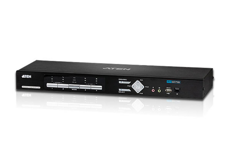 ATEN CM1164: 4-port USB DVI-D KVMP Control Center