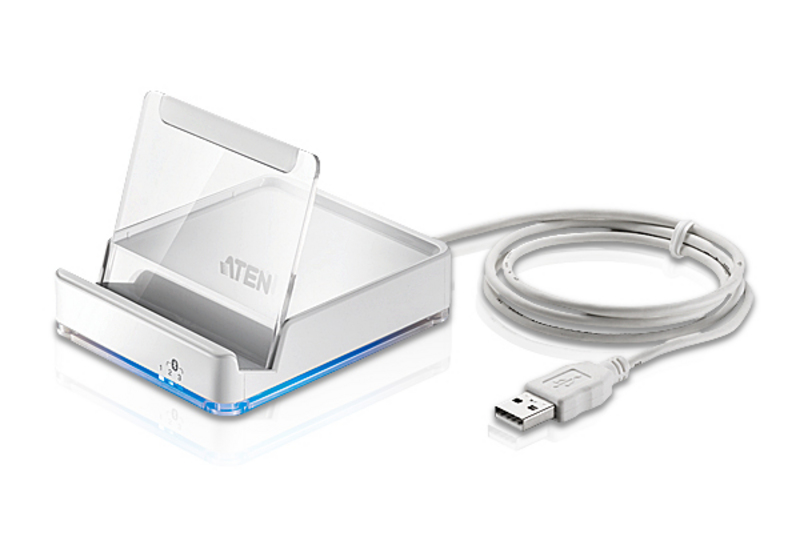 ATEN CS533: Tap (USB to Bluetooth KM Switch) Tap your desktop keyboard into an iPhone or iPad