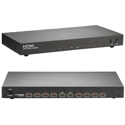 2 input+8 output HDMI Switch Splitter (LU628B)