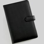 "Kindle-4C: 2011 Kindle-4 6"" TPU Leather cover case black/Pink/Purple"