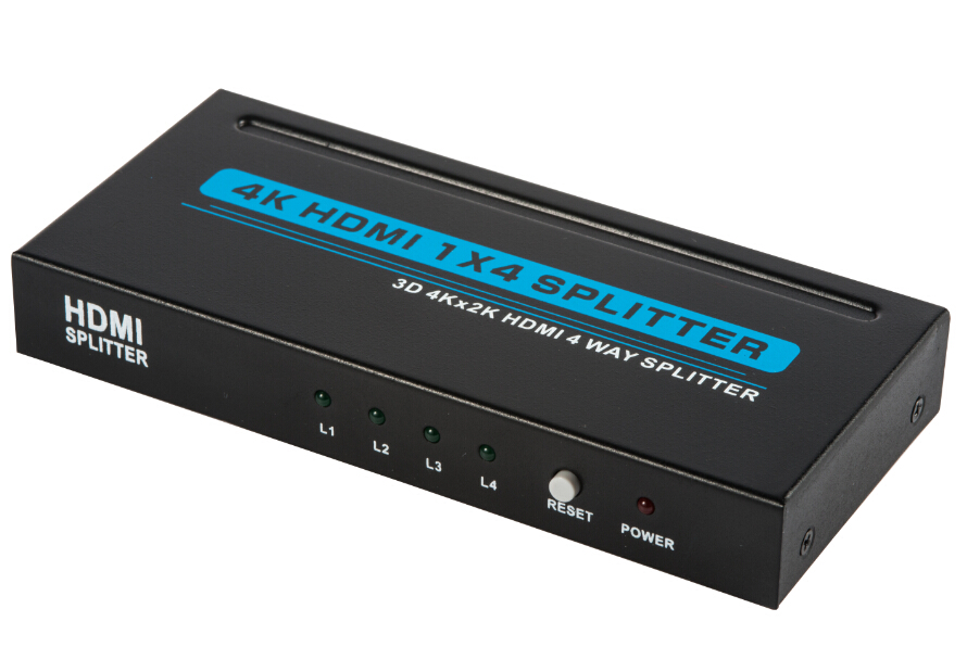 how to connect hdmi splitter