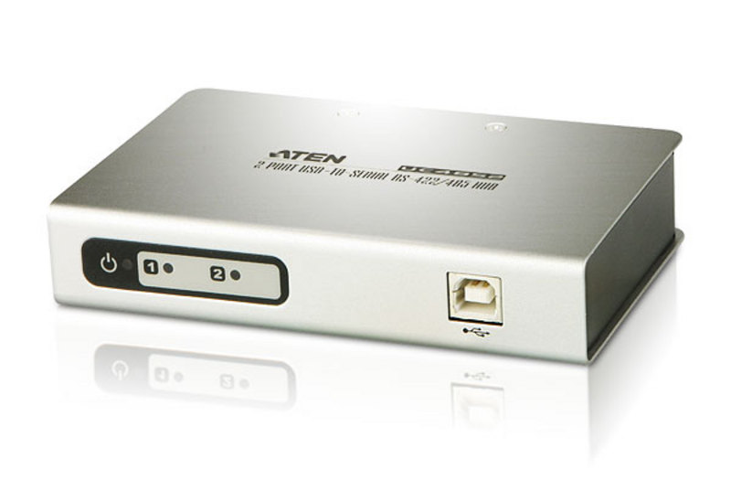 ATEN UC4852: 2-Port USB-to -Serial RS-422/485 Hub
