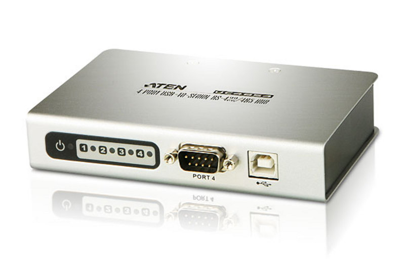 ATEN UC4854: 4-Port USB-to -Serial RS-422/485 Hub