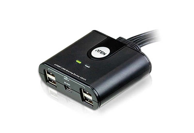 ATEN US424: 4-port USB 2.0 share Hub for 4 computers