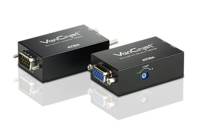 ATEN VE022: Cat5 VGA/Audio extender up to 320ft.