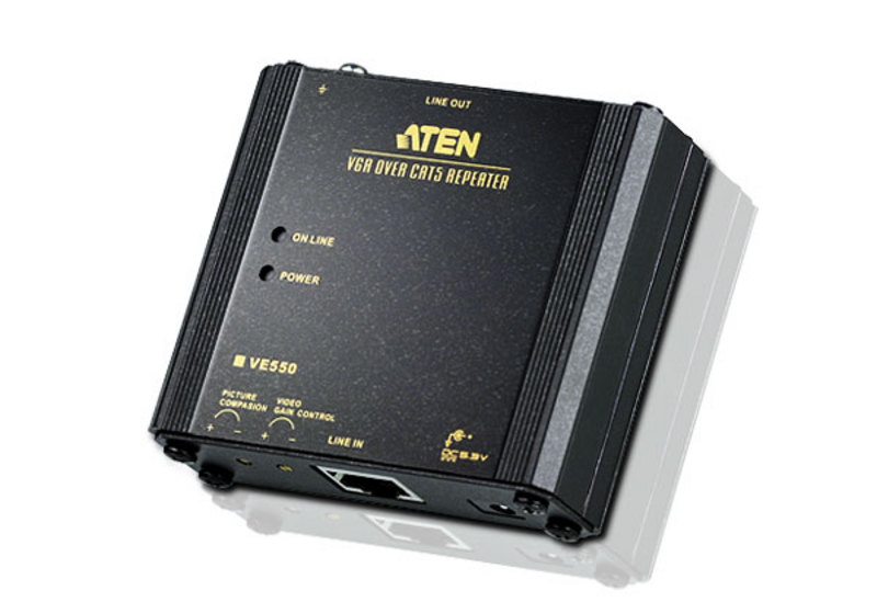 ATEN VE550: VGA over Cat5 Repeater